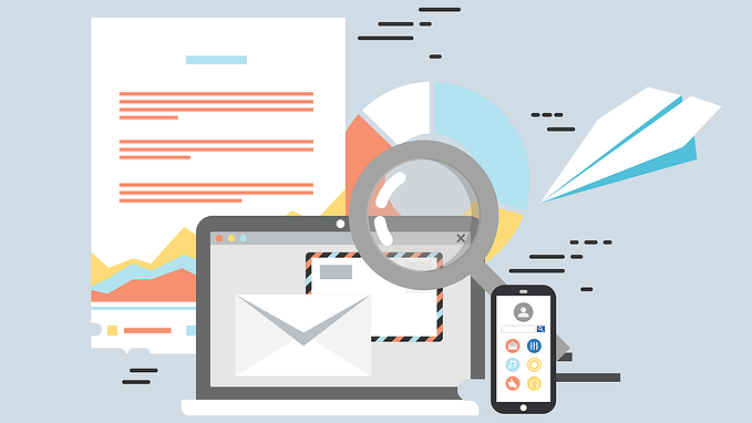 Email Abstract Image