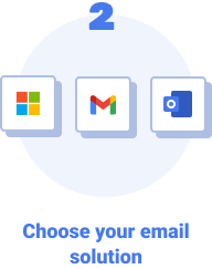Choose your email solution.