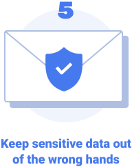 Keep sensitive data out of the wrong hands.